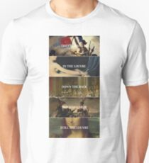 the louvre Unisex T-Shirt
