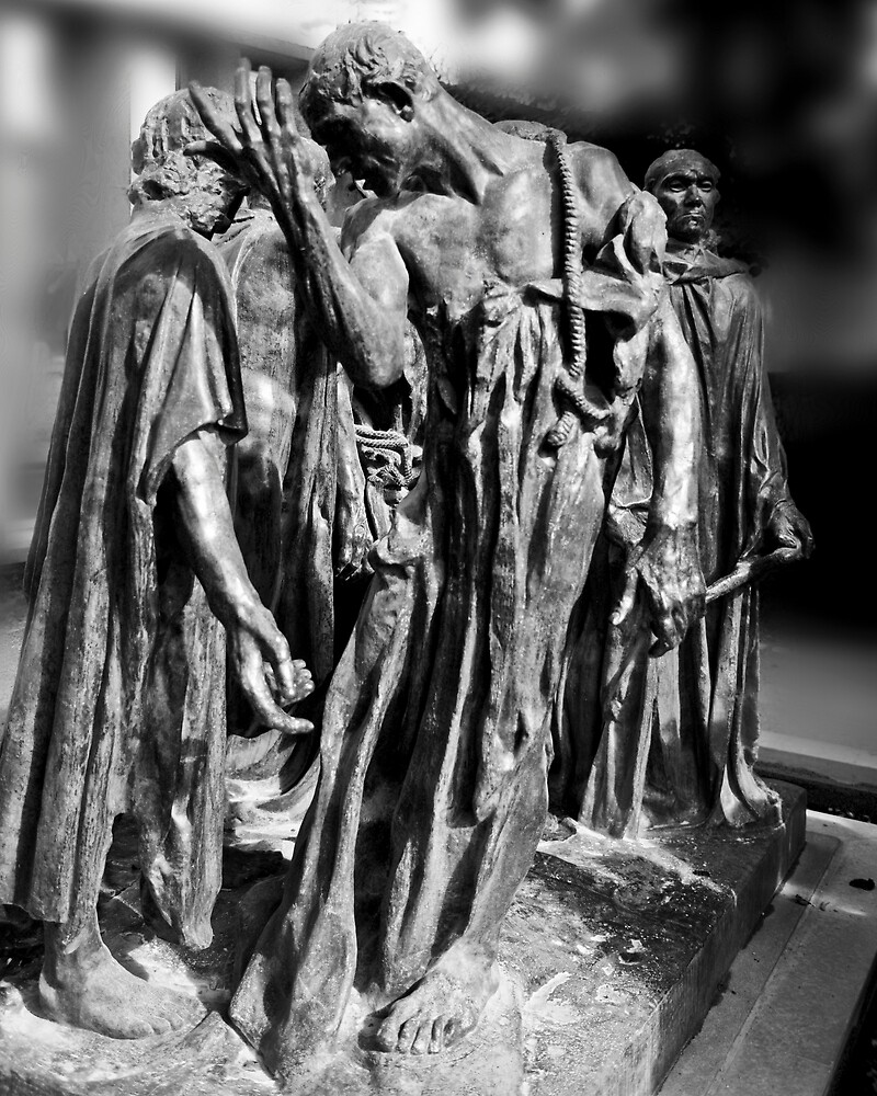 THE BURGHERS OF CALAIS by Thomas Barker-Detwiler