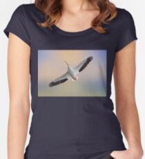 Soaring High Women's Fitted Scoop T-Shirt