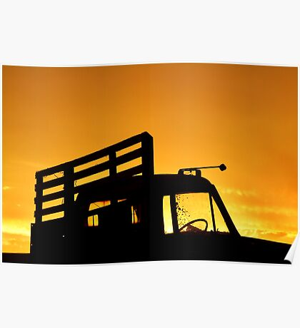 Tray Truck Poster