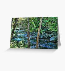 Mountain Paradise Greeting Card