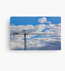 Office In The Sky Canvas Print
