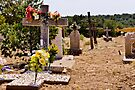 CHILILI, NEW MEXICO GRAVEYARD by Thomas Barker-Detwiler