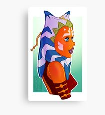 Ahsoka Profile Canvas Print
