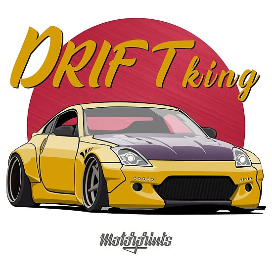 Drift King 350Z (yellow)