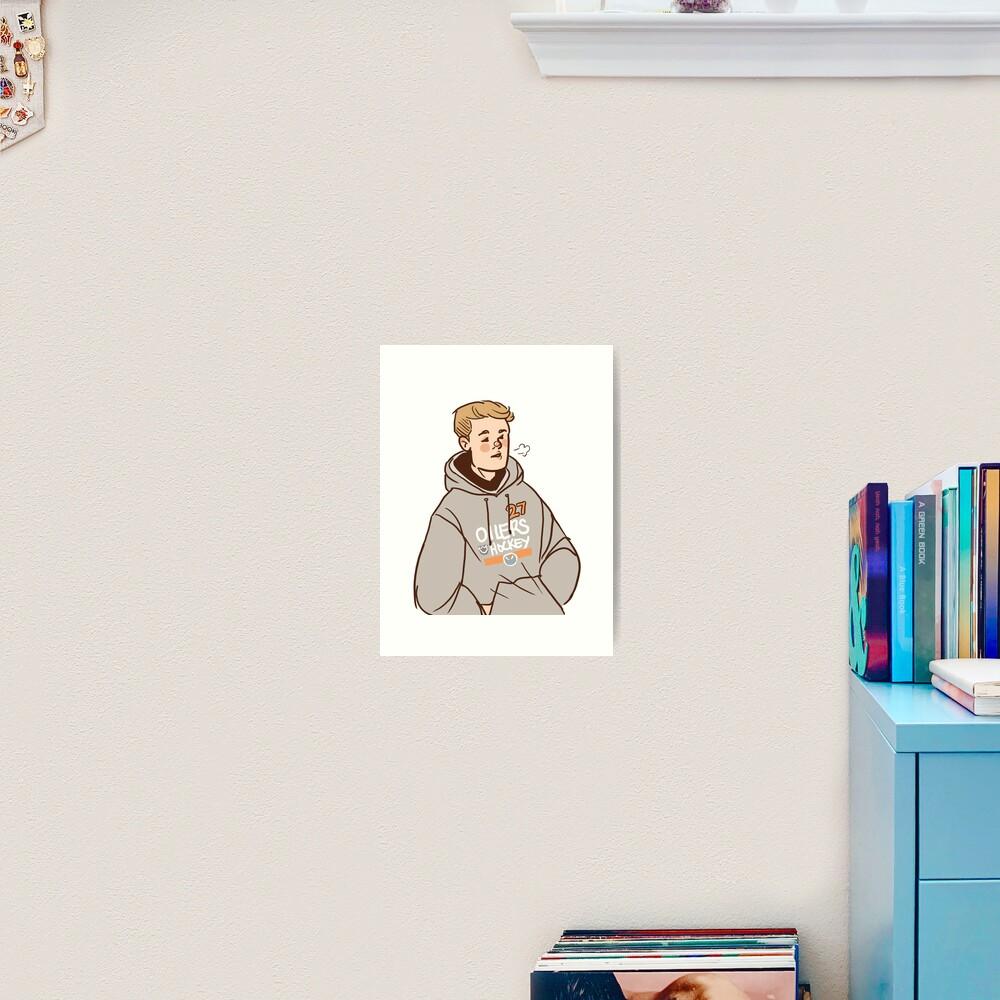 Sharing Hoodies Art Print