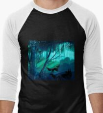 Shadow Wolves Stalk The Silver Wood T-Shirt