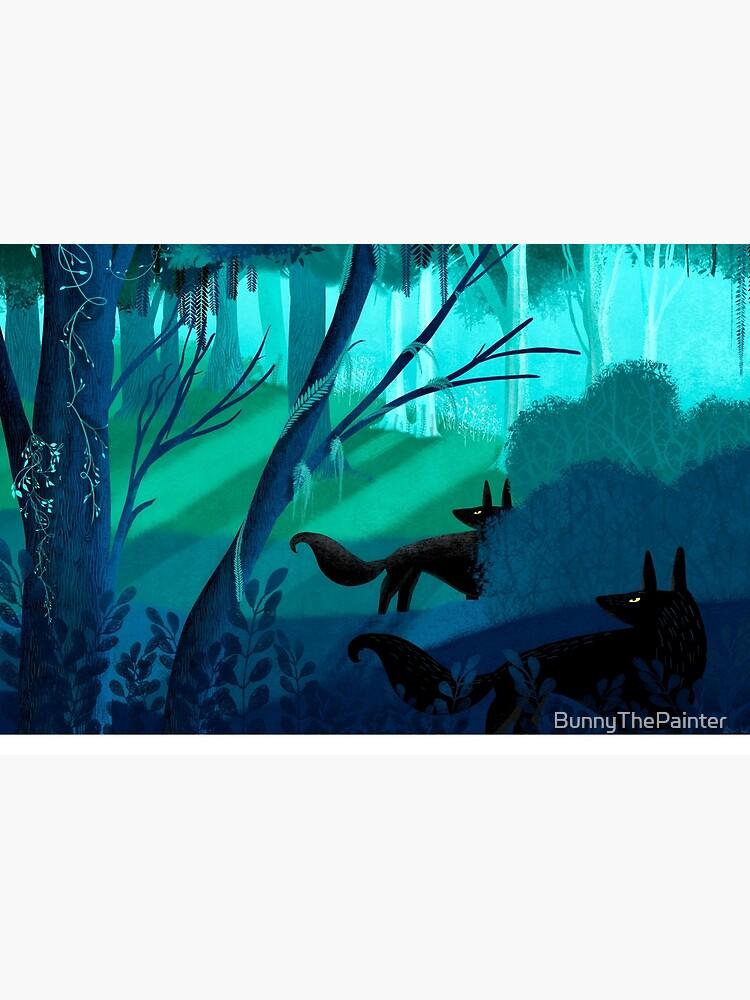 Schattenwölfe Stalk The Silver Wood von BunnyThePainter