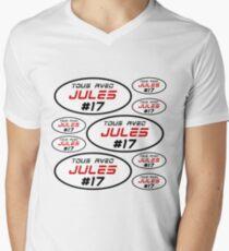 Multi Jules 17 Men's V-Neck T-Shirt