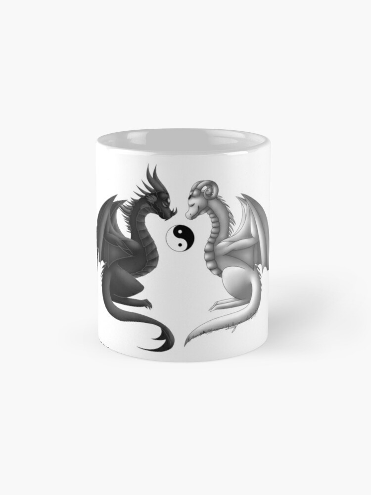 Alternative Ansicht von Yin Yang Wyvern Tasse