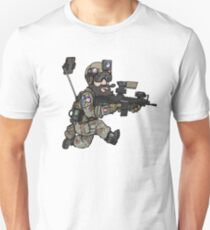 The social airsofter Unisex T-Shirt