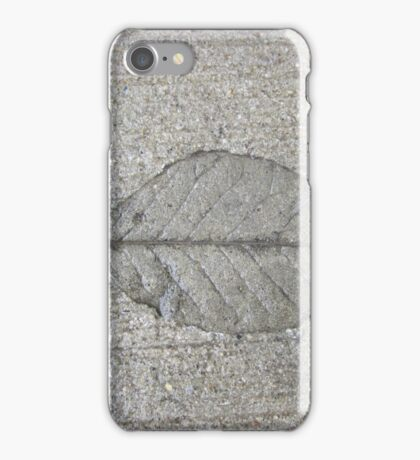 Sidewalk Art by Leaf iPhone Case/Skin