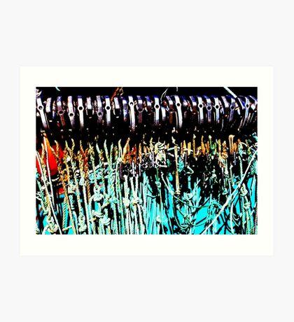 Netze Kunstdruck