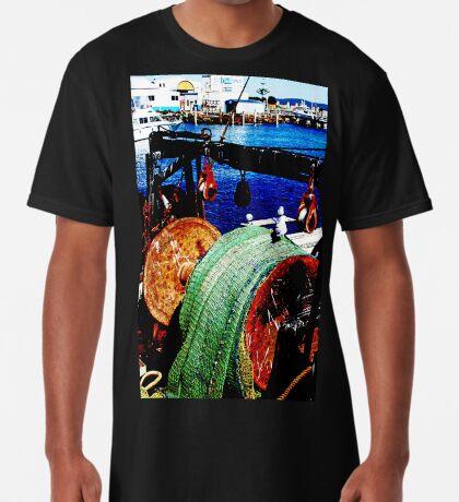 Das Fischerboot Longshirt