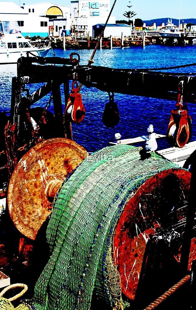 Das Fischerboot von Evita