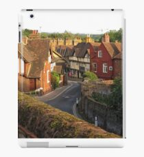 Aylesford High Street from Cage Hill iPad Case/Skin