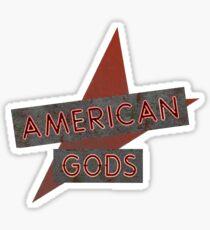 American Gods Logo Sticker