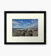 Peaceful & Beautiful Day Framed Print