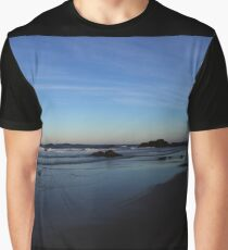 Sundown in Surf Beach Graphic T-Shirt