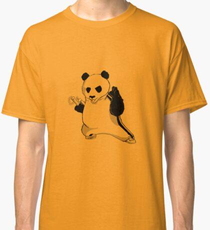 Martial Arts Panda  Classic T-Shirt