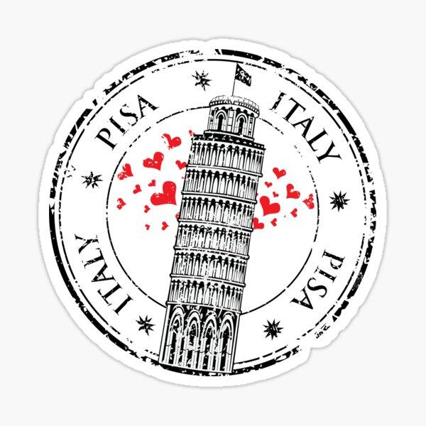 Italy Pisa Sticker