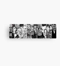 """Doctor Who: """"No, sir... All thirteen!"""" Canvas Print"""