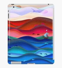 Fishy fantasy land artwork iPad Case/Skin