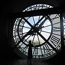 View Through the Clock - Musee d'Orsay, Paris by hellveticaworks