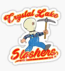 Crystal Lake Slashers Sticker
