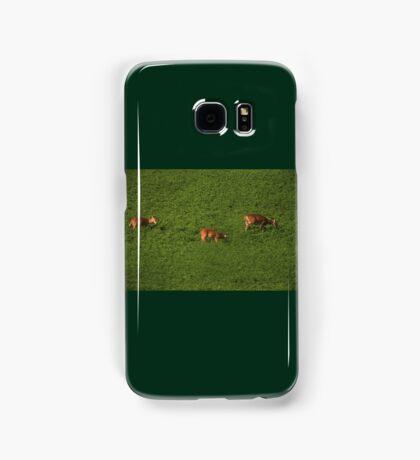 Deer in Bean Field Samsung Galaxy Case/Skin