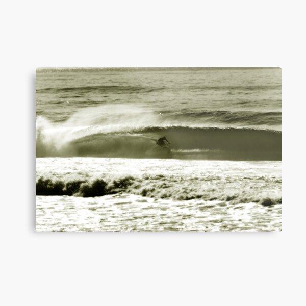 simon farrer.kneeboard surfing Metal Print