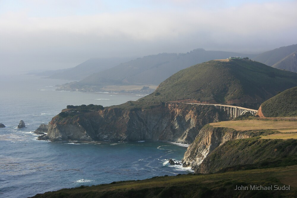 Bixby Bridge at Big Sur by John Michael Sudol