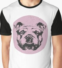 Vintage Bulldog Graphic T-Shirt