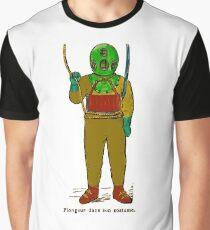 Plongeur Dans Son Costume Graphic T-Shirt