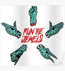 Run The Jewels - Rock, Paper, Scissors, Fist, Pistol Poster