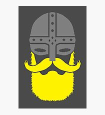 Bearded Viking Warrior Photographic Print