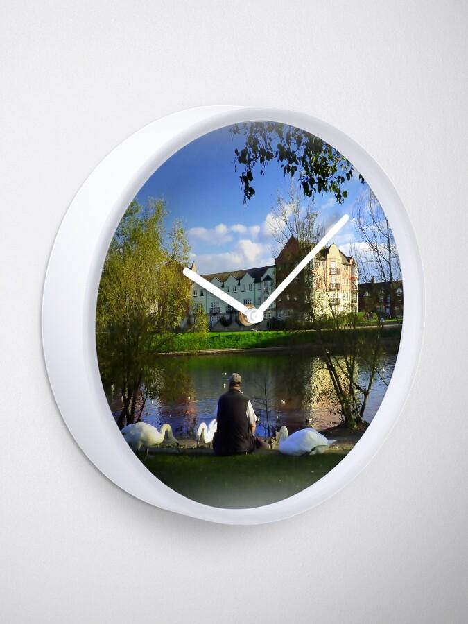 Alternative Ansicht von The Swan Whisperer Uhr