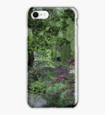 Reflections at Butchart Gardens iPhone Case/Skin