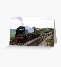 Steaming Greeting Card