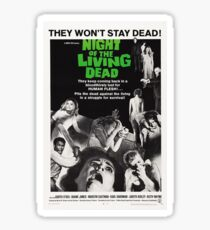 NIGHT OF THE LIVING DEAD PHONE CASE Sticker