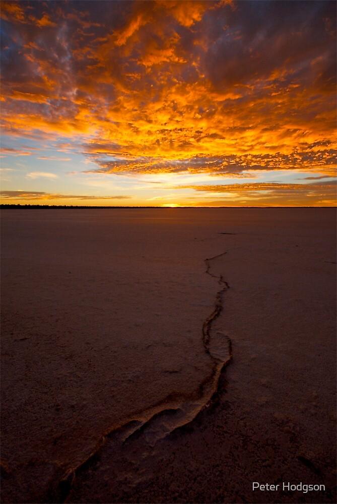 Salt Lake Sunrise by Peter Hodgson