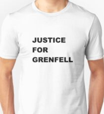 Justice for Grenfell T-Shirt