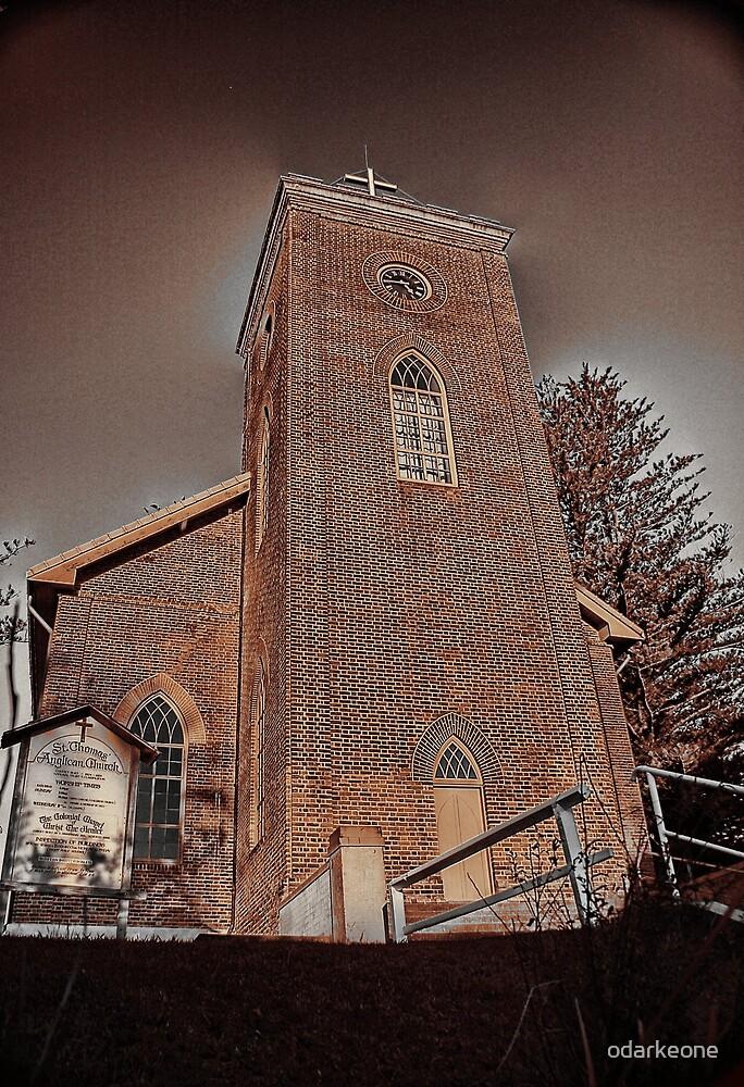 St Thomas Church Sepia by odarkeone