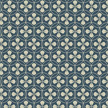 Oriental Flowers Pattern 2 by NomadicMarket