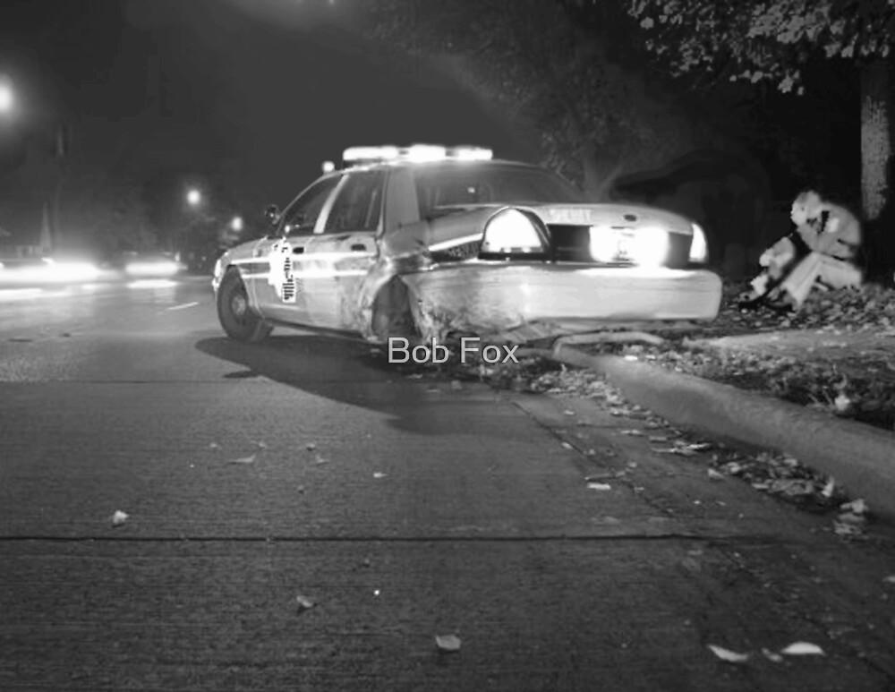 Cop Crash by Bob Fox