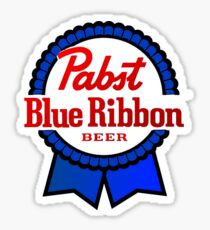Pabst Blue Ribbon PBR Beer Sticker