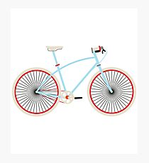 Fixie Bike Photographic Print