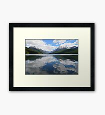 Bowman Lake (Glacier National Park) Framed Print