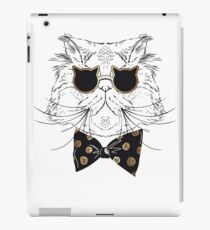 Cat Bow Tie and Sunglasses iPad Case/Skin