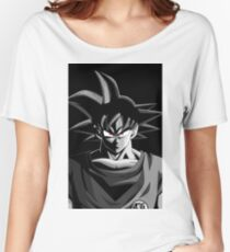 Goku Black And White Women's Relaxed Fit T-Shirt